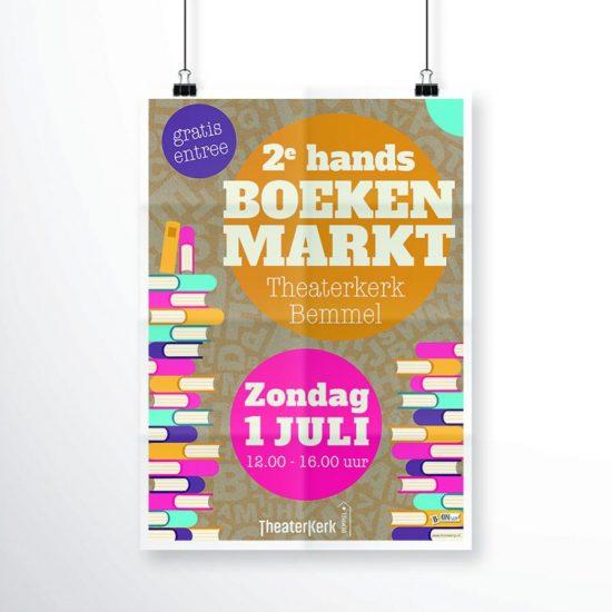 2e hands boekenmarkt Bemmel - Theaterkerk Bemmel