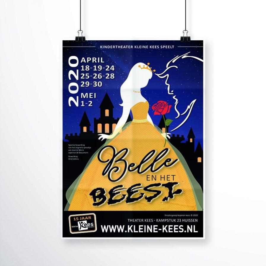 Kindertheater Kleine Kees - Belle en het beest