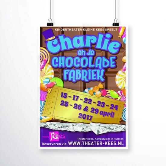 Kindertheater Kleine Kees - Charlie en de chocoladefabriek
