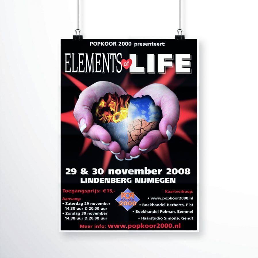 Popkoor 2000 - Elements of Life