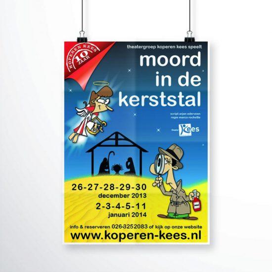 Theatergroep Koperen Kees - Moord in de Kerststal