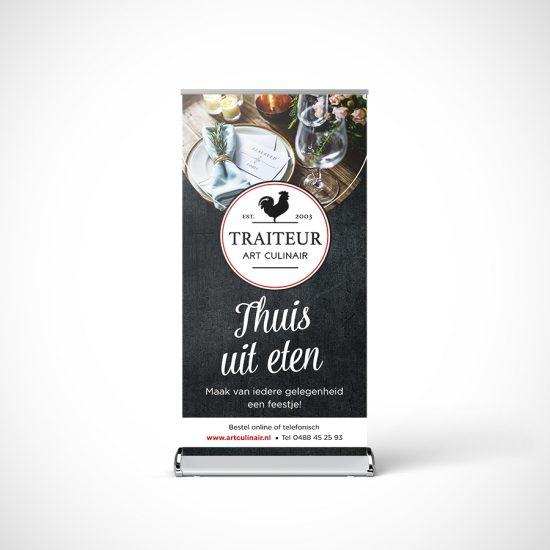 Banner traiteur Art Culinair