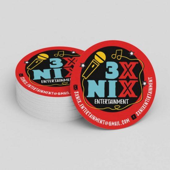 bierviltjes 3XNIX entertainment
