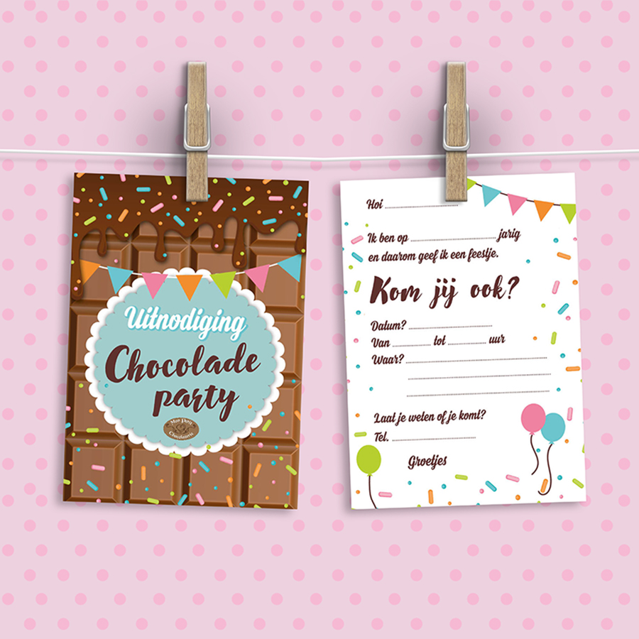 mon petit chocolaterie uitnodiding