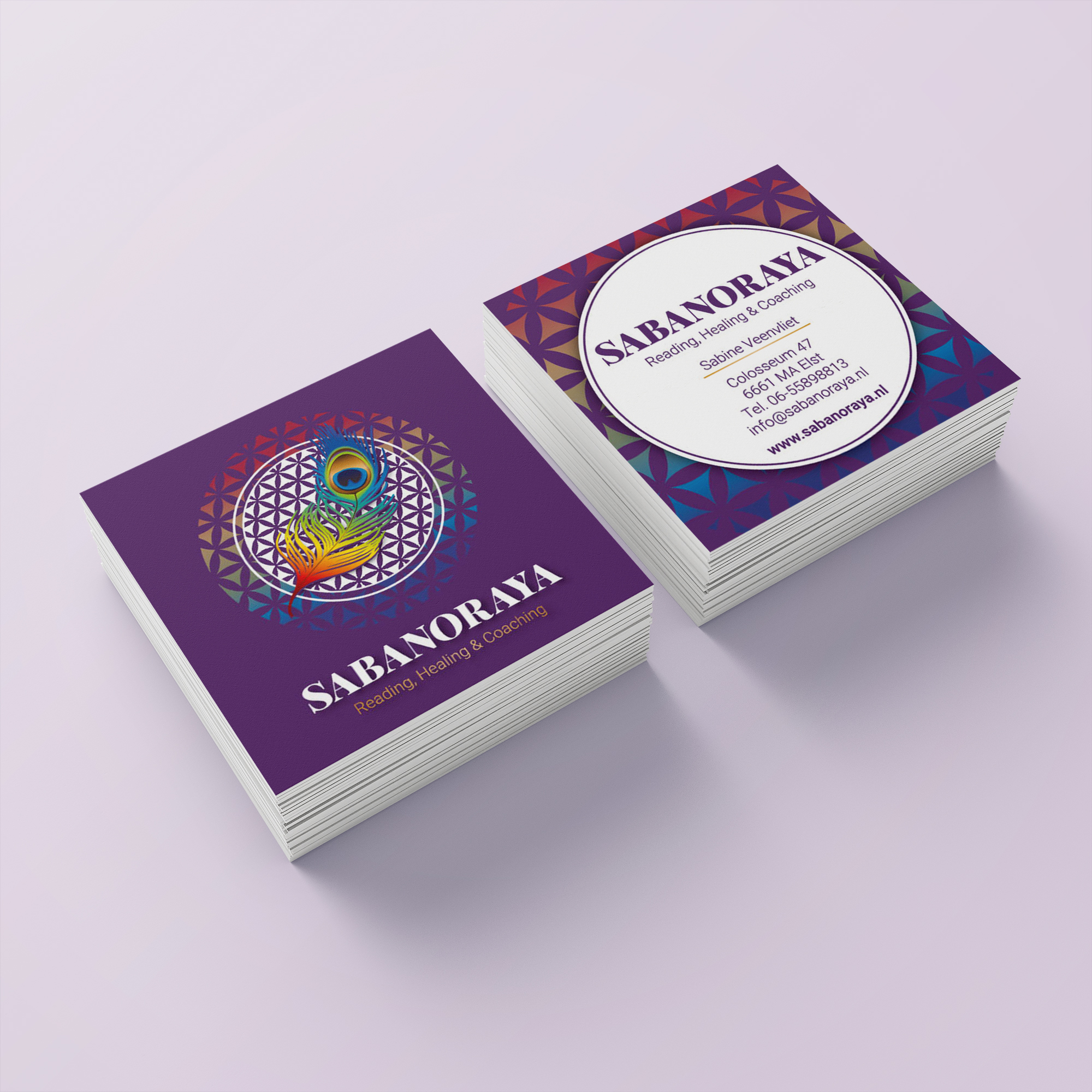 sabanoraya visitekaartjes